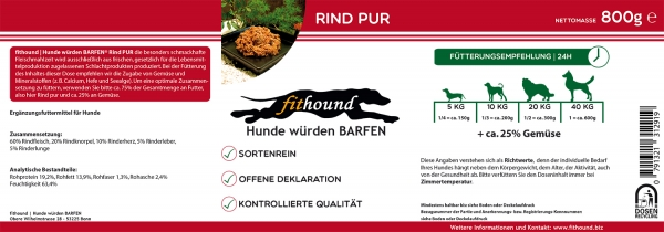 RIND PUR 800g